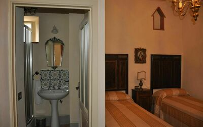 Vigna San Giuseppe: Yellow Room with Bath
