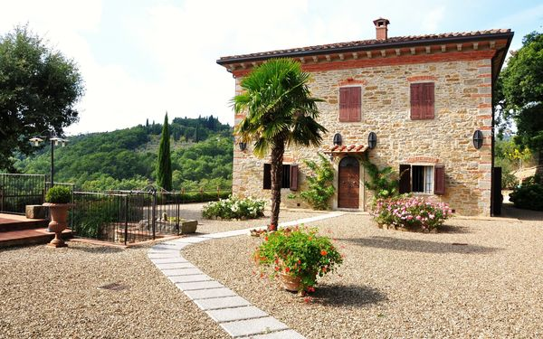 Vigna San Giuseppe, Villa for rent in Capolona, Tuscany