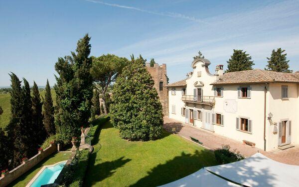 Villa Castello Di Cabbiavoli in affitto a Castelfiorentino