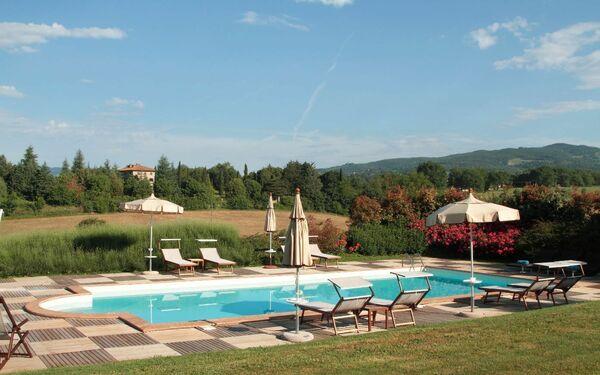 Villa Podere Sant'angelo in  Bibbiena -Toskana