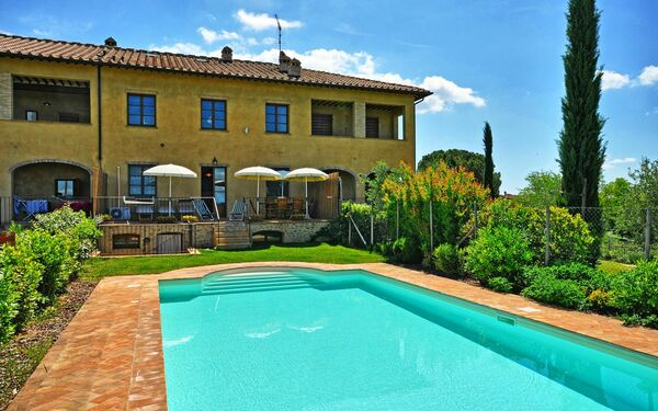 Casa Serena, Apartment for rent in Poggibonsi, Tuscany
