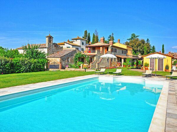 Villa Frosini, Villa for rent in Arezzo, Tuscany