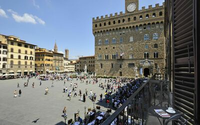 Piazza Della Signoria: Vista dal balcone