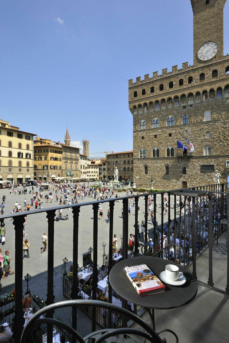 Vista Su Piazza Della Signoria