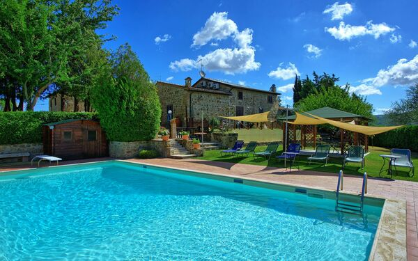 Cerretalta, Villa for rent in San Quirico D'orcia, Tuscany
