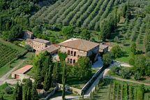 Villa Buoninsegna, Apartment for rent in Rapolano Terme, Tuscany