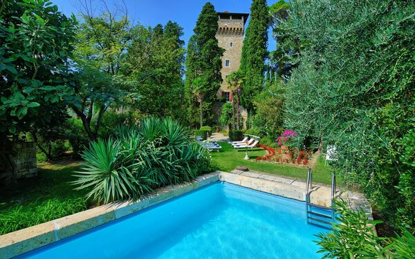 Rocca Di Cetona, Castle for rent in Cetona, Tuscany