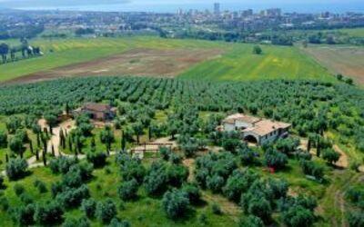 Villa Giulia Follonica: aereal view