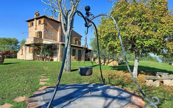 Villa Corolle, Villa for rent in Montepulciano, Tuscany
