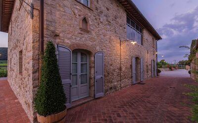 Villa Casanova: Villa Casanova at sunset