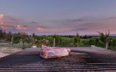 Villa Casanova: In the villa there is a big BBQ