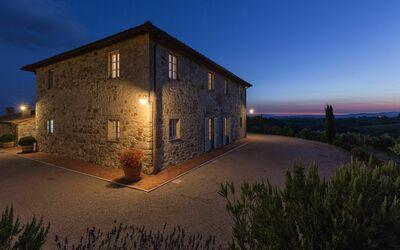 Villa Casanova: Villa Casanova on the night