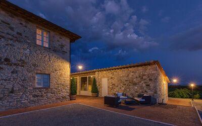 Villa Casanova: Night atmosphere