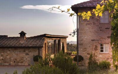 Villa Casanova: Sunset' atmosphere