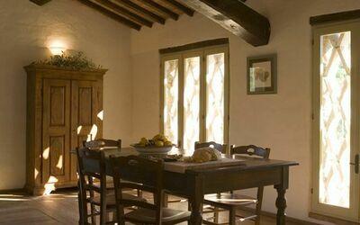 Apt La Quercia: Dining area