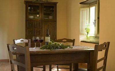 Apt Il Castagno: Castagno living room