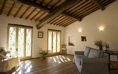 Apt La Quercia: Quercia living room
