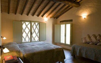 Apt La Quercia: Quercia bedroom 1