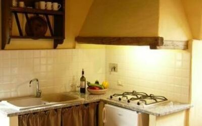 Apt Il Melograno: Melograno kitchen