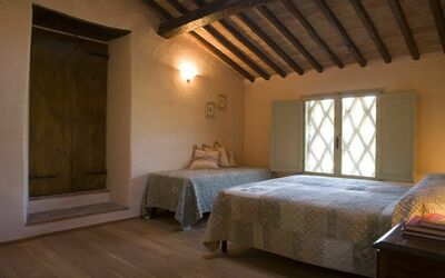Apt La Quercia: Quercia bedroom 2