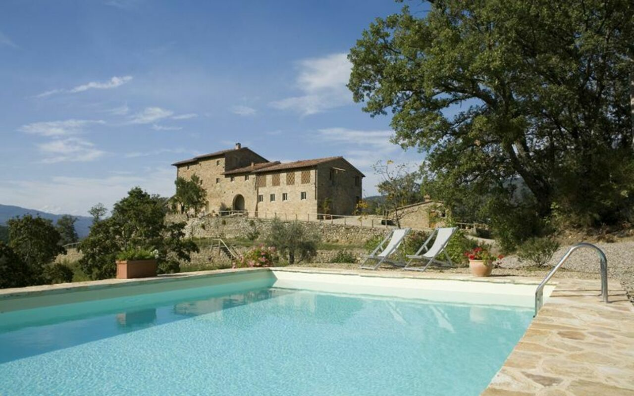 "Tucked away in the Florentine hills just 28km from the cultural centre of Florence, home to the renowned Medici family and birthplace of Renaissance art, ""Podere Torremozza"" is the perfect hideaway ....."