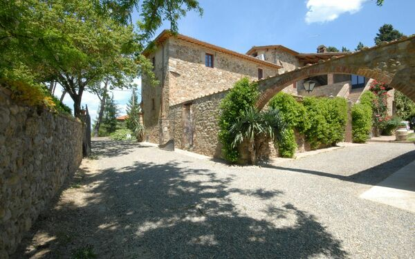Villa Marie, Apartment for rent in Quercegrossa, Tuscany