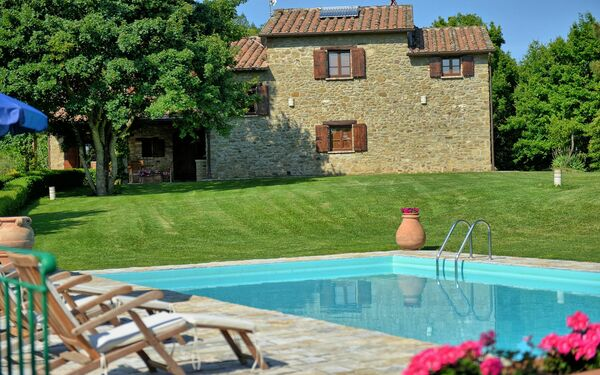Villa Col Di Forche, Villa for rent in Monterchi, Tuscany