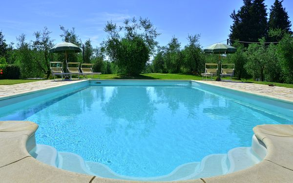 Villa Buonaparte, Villa for rent in Corazzano, Tuscany