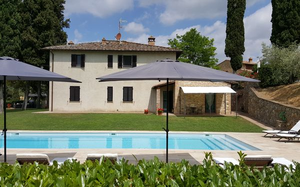 Podere Degli Olivi, Apartment for rent in San Gimignano, Tuscany