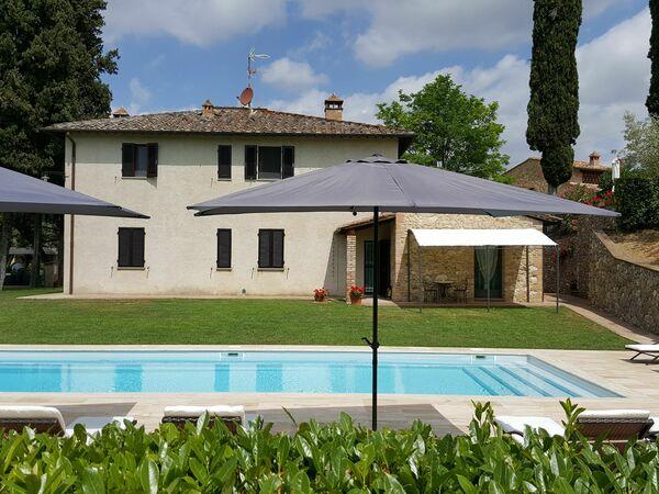 Toskánsko, San Gimignano, Podere Degli Olivi