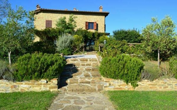 La Casa Di Bice, Apartment for rent in Asciano, Tuscany