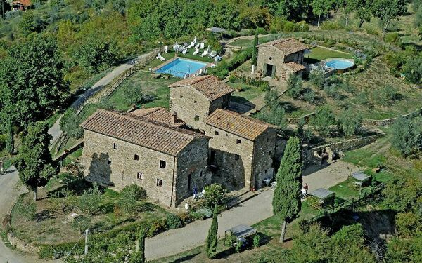 Montegonzi, Apartment for rent in Montefioralle, Tuscany