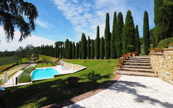 Cornocchio, Apartment for rent in Sensano, Tuscany