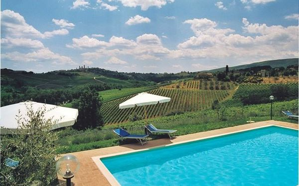 Casa Spina, Villa for rent in San Gimignano, Tuscany