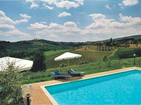 Toskánsko, San Gimignano, Casa Spina