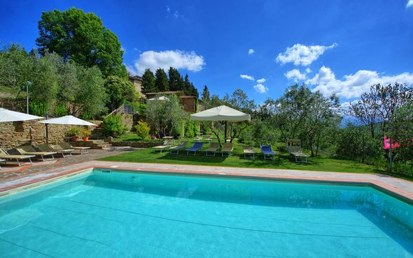 Villa Fabbroni - Fattoria San Polo, Apartment for rent in San Polo In Chianti, Tuscany