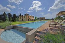 Villa Villa Insoglio in  Montelopio -Toskana