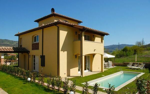 Casa Torretta, Villa for rent in Montefioralle, Tuscany