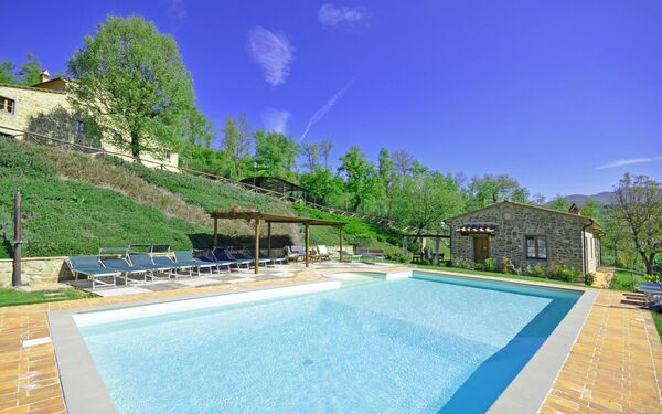 Villa Casentino, Villa for rent in Capolona, Tuscany