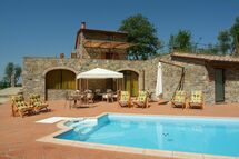 Villa Barbischio, Villa for rent in Gaiole In Chianti, Tuscany