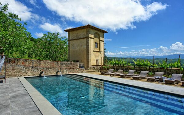 Collina, Apartment for rent in San Donato In Collina, Tuscany