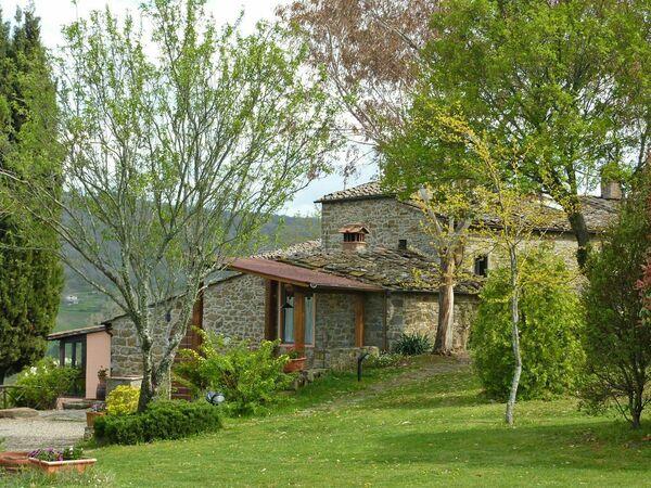 Toskánsko, Volpaia, Villa Panzano