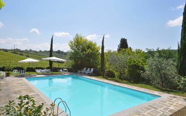 Villa Pisignano, Villa for rent in Mulino Di Sugana, Tuscany