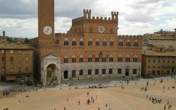 Piazza Del Campo, Holiday Apartment for rent in Siena, Tuscany