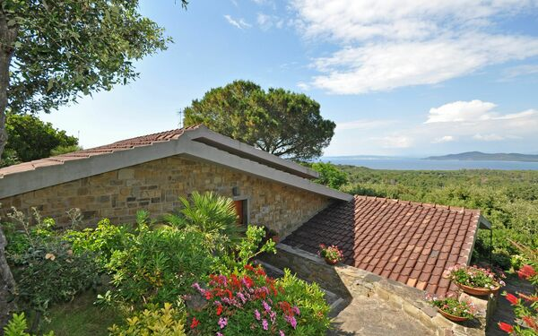 Punta Ala, Apartment for rent in Punta Ala, Tuscany