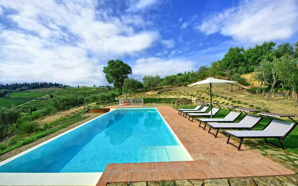 Casa Giorgio, Apartment for rent in Panzano In Chianti, Tuscany