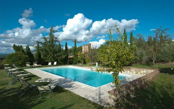 Villa Onnina in  San Gimignanello -Toskana