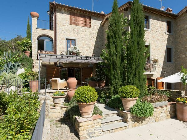 Villa Nova, Apartment for rent in Villa a Sesta, Tuscany
