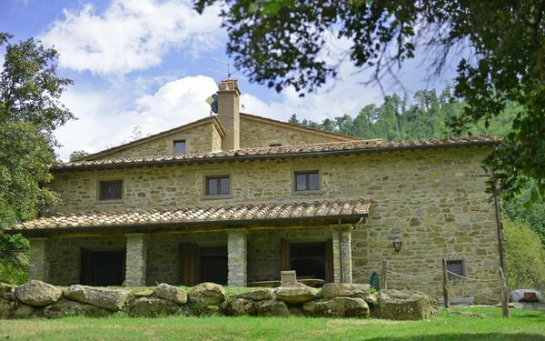 Villa Cretole, Villa for rent in Monterchi, Tuscany