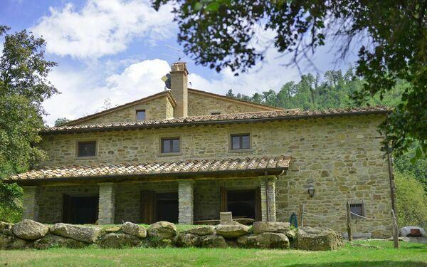 Toskánsko, Monterchi, Villa Cretole